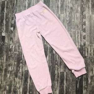 Pink girls Juicy Couture pants